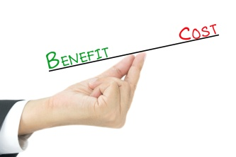 Benefit vs Cost comparison