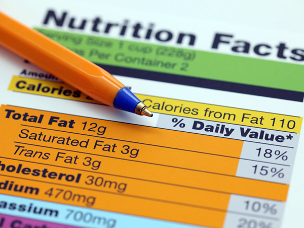 In Your Face … Nutritional Facts